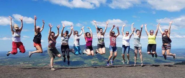 Volcano jump